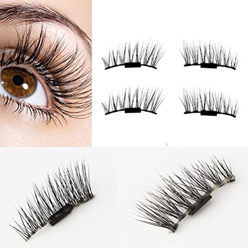 4ef2c0d653a No glue required, put it in a second without messy glue, you will love it,  its like a magic. Note: 2 pieces lashes for one eye, so, you need 4 pieces2  pairs ...