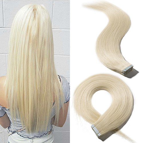 22 inch 20pcs 50gpack remy tape in human hair extensions 60 fastest solution for a bad hair cut suitable for any occasions fast delivery stock in us local warehouse shipped via ups arrive in 2 6 business days pmusecretfo Image collections
