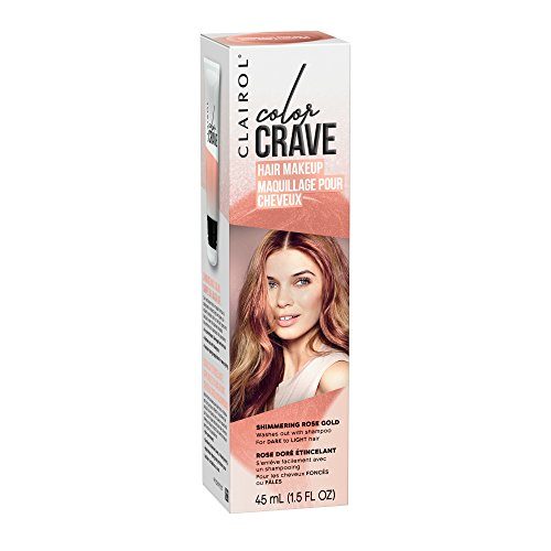 Clairol Color Crave Semi Permanent Hair Color Rose Gold Shinyprice